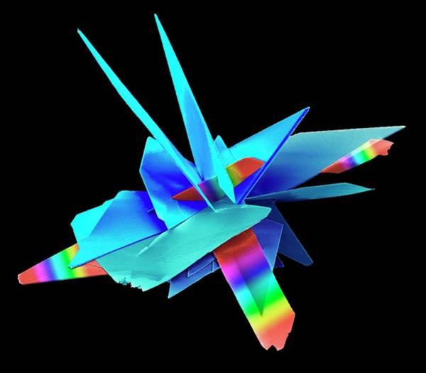 Photograph - Brushite Crystals by Kseniya Shuturminska / Science Photo Library