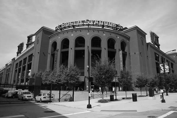 Busch Photograph - Busch Stadium - St. Louis Cardinals by Frank Romeo