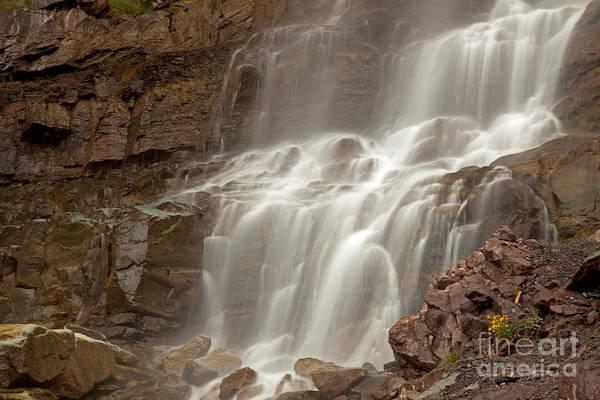 Photograph - Cascade Falls On Cascade Creek by Fred Stearns