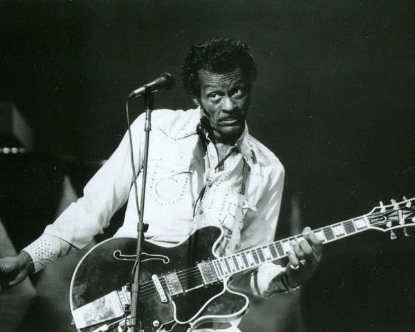 High School Photograph - Chuck Berry by Retro Images Archive