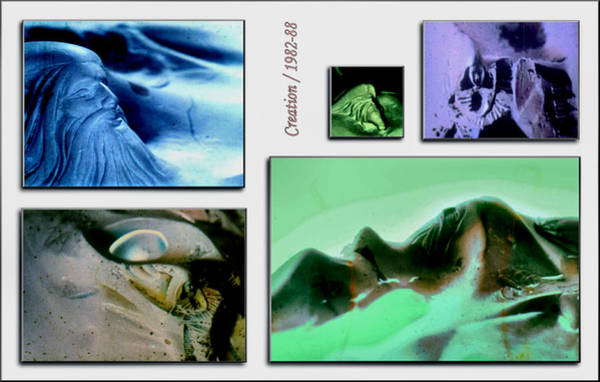 Pastel - Creation 1982 by Glenn  Bautista