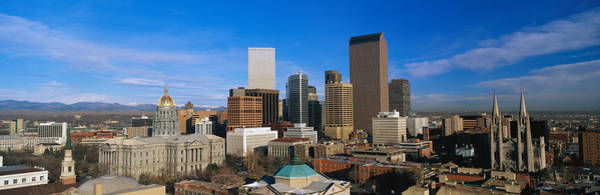 Mile High City Photograph - Denver Co by Panoramic Images