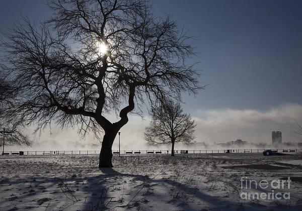 Photograph - Detroit Winter by Jim West