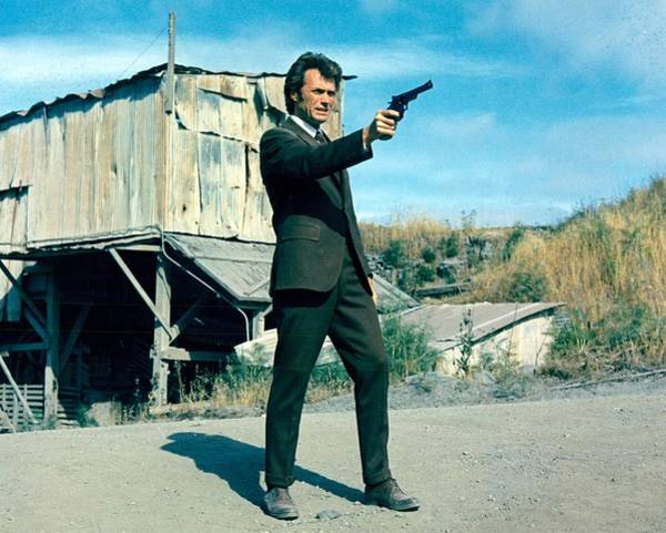 Wall Art - Photograph - Dirty Harry  by Silver Screen