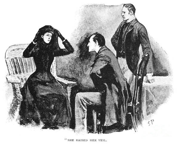 Conan Photograph - Doyle: Sherlock Holmes by Granger