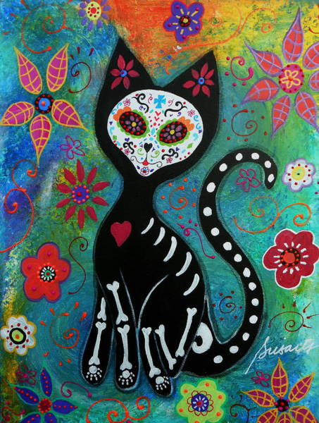 Wall Art - Painting - El Gato by Pristine Cartera Turkus