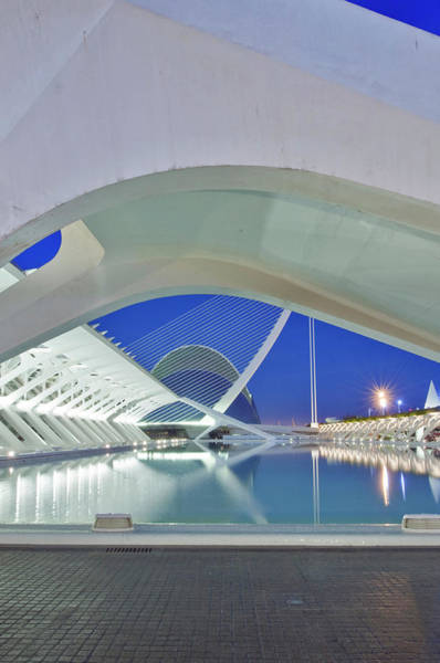 Arte Photograph - Europe, Spain, Valencia, City Of Arts by Rob Tilley
