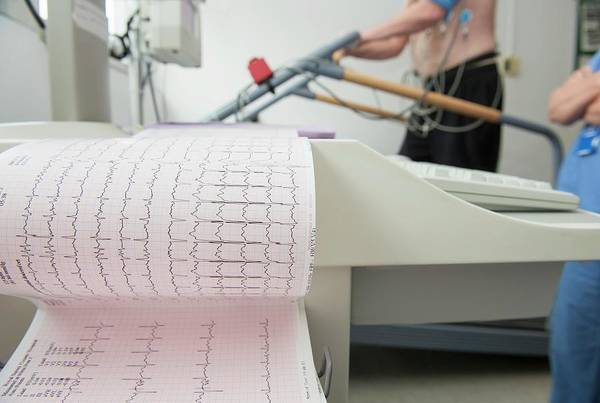 Wall Art - Photograph - Exercise Electrocardiograph by Dr P. Marazzi/science Photo Library