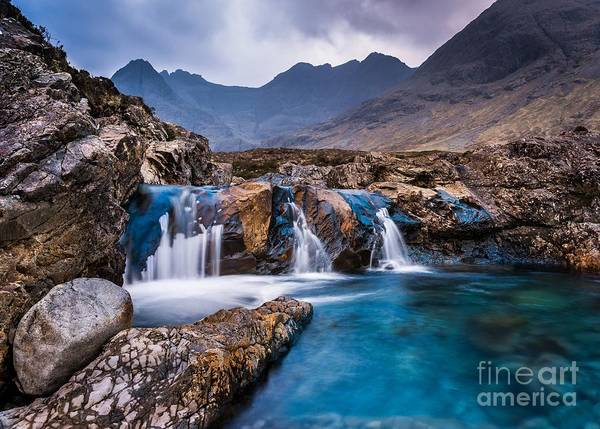 Fairy Pools Art Print by Maciej Markiewicz
