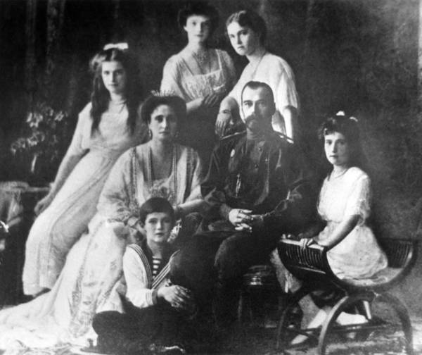 Family Of Tsar Nicholas II Of Russia Art Print by Laski Diffusion