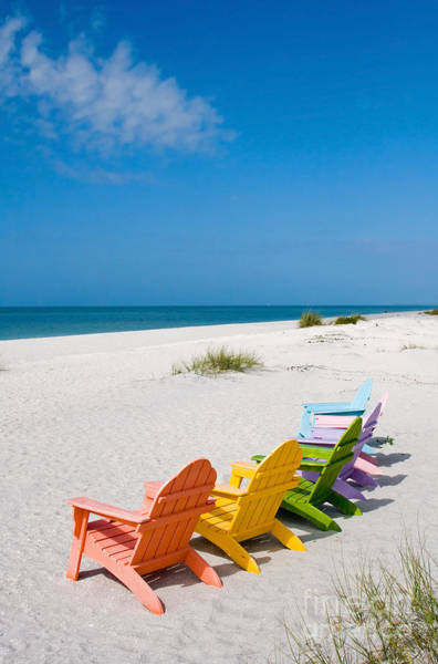 Wall Art - Photograph - Florida Sanibel Island Summer Vacation Beach by ELITE IMAGE photography By Chad McDermott