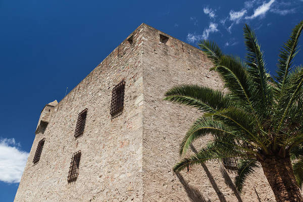 Roman Fort Photograph - France, Corsica, Costa Serena, Aleria by Walter Bibikow