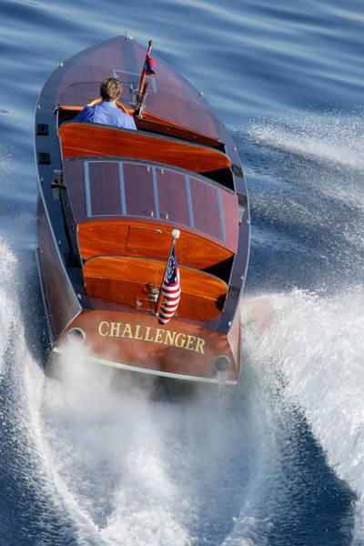 Photograph - Gar Wood Challenger by Steven Lapkin
