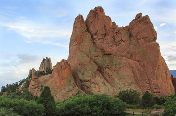 Photograph - Garden Of The Gods In Evening Light by Richard Smith