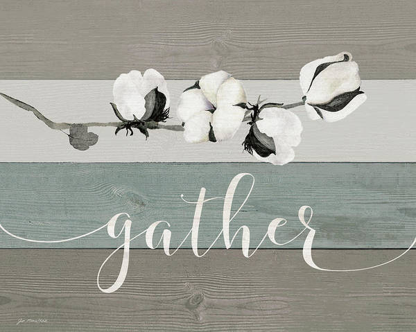 Wall Art - Painting - Gather by Jo Moulton