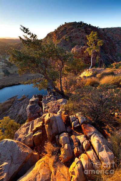 Northern Territory Photograph - Glen Helen Gorge by Bill  Robinson