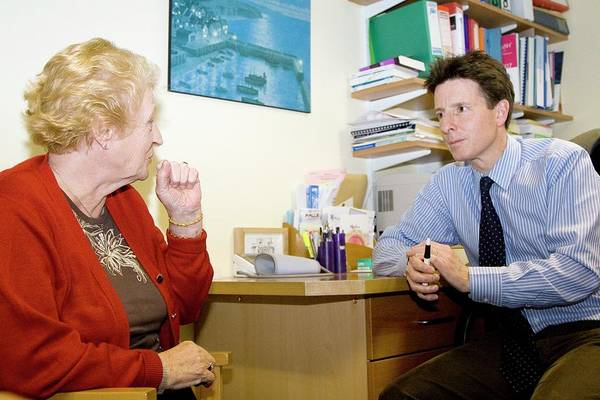 Doctor Office Photograph - Gp Consultation by Life In View/science Photo Library