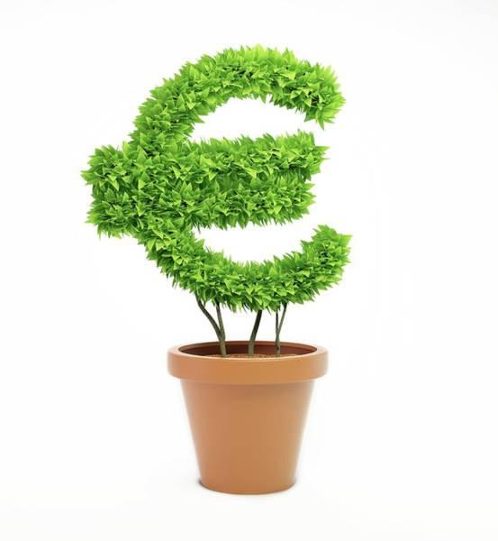 Wall Art - Photograph - Green Economy by Andrzej Wojcicki/science Photo Library