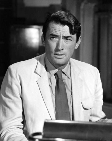 Peck Wall Art - Photograph - Gregory Peck by Silver Screen