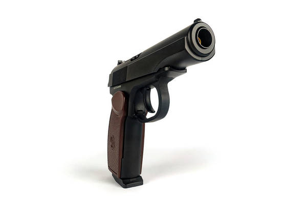 Wall Art - Photograph - Handgun by Wladimir Bulgar/science Photo Library