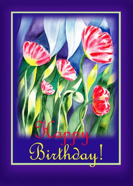 Painting - Happy Birthday by Irina Sztukowski