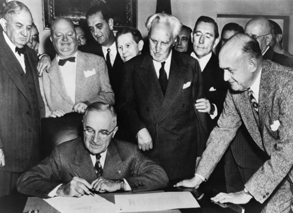 Photograph - Harry Truman by Granger