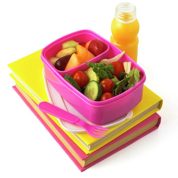 Wall Art - Photograph - Healthy Packed Lunch by Science Photo Library