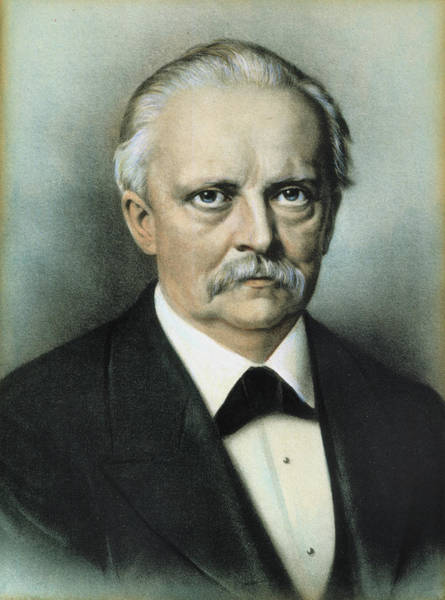 Painting - Hermann Von Helmholtz (1821-1894) by Granger