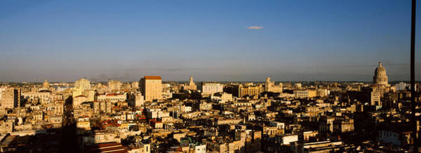 Wall Art - Photograph - High Angle View Of A City, Old Havana by Panoramic Images