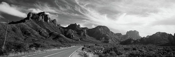 Wall Art - Photograph - Highway Passing Through A Landscape by Panoramic Images