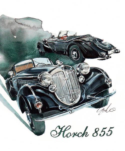 855 Painting - Horch 855 by Yoshiharu Miyakawa