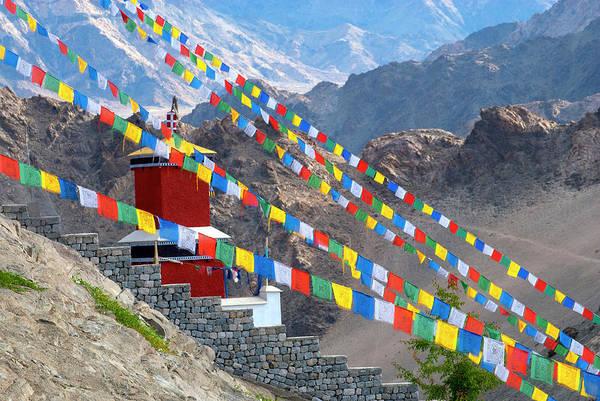 Clark Photograph - India, Jammu & Kashmir, Ladakh, Leh by Ellen Clark