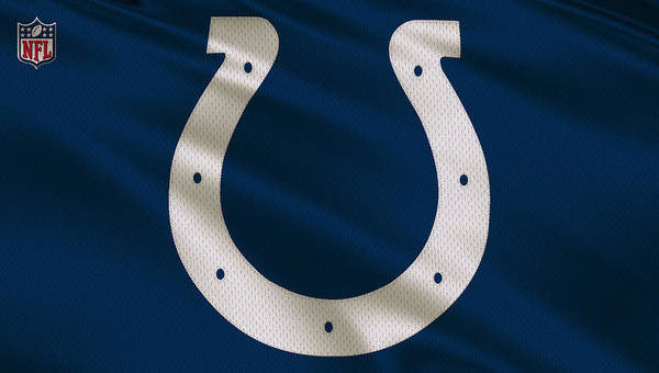 Colt Photograph - Indianapolis Colts Uniform by Joe Hamilton