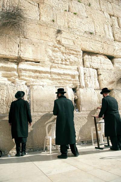Holy City Photograph - Israel, Jerusalem by David Noyes