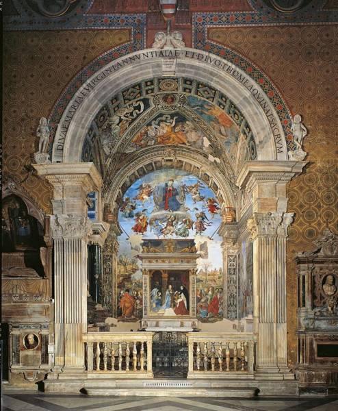Italy, Lazio, Rome, Santa Maria Sopra Art Print