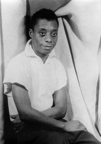 Wall Art - Photograph - James Baldwin (1924-1987) by Granger