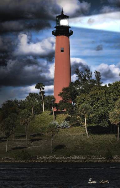 Photograph - Jupiter Lighthouse by Rudy Umans