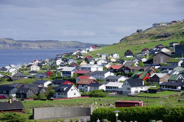 North Coast Harbor Photograph - Kingdom Of Denmark, Faroe Islands (aka by Cindy Miller Hopkins