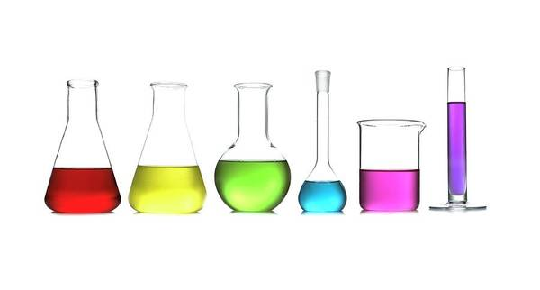 Wall Art - Photograph - Laboratory Glassware by Science Photo Library