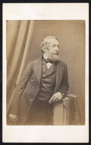 Wall Art - Photograph - Lajos Kossuth  Hungarian Patriot by Mary Evans Picture Library