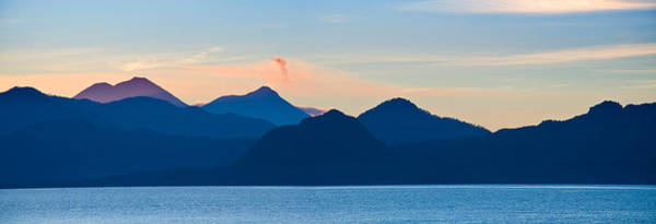 Guatemala Photograph - Lake With Mountains In The Background by Panoramic Images