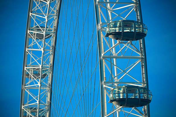 Wall Art - Photograph - London Eye by Songquan Deng