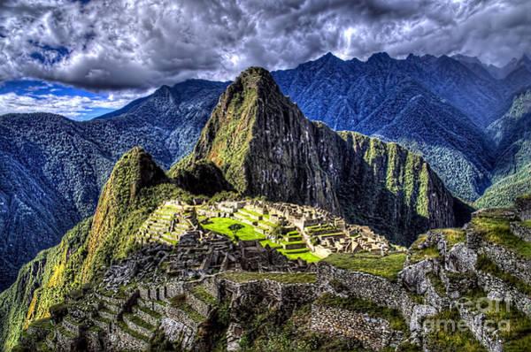 Wall Art - Photograph - Machu Picchu - Peru by Jon Berghoff