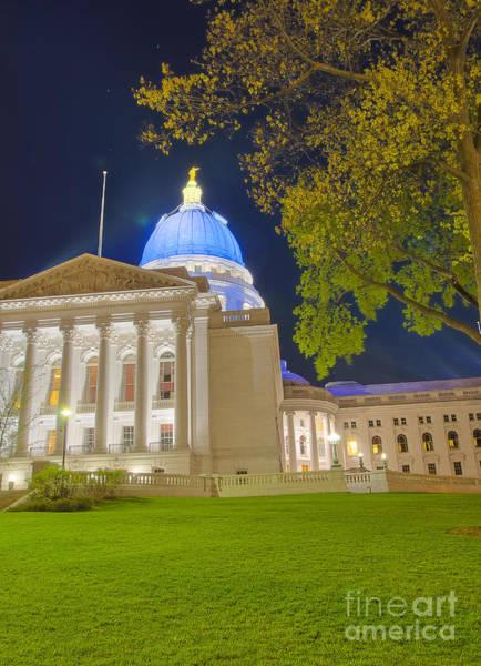 Photograph - Madison Capitol by Steven Ralser
