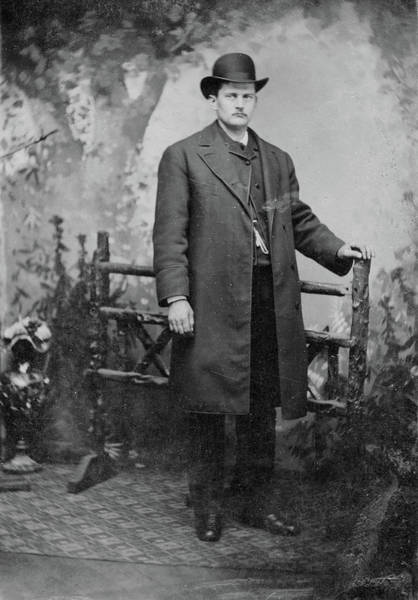 Photograph - Man, C1890 by Granger