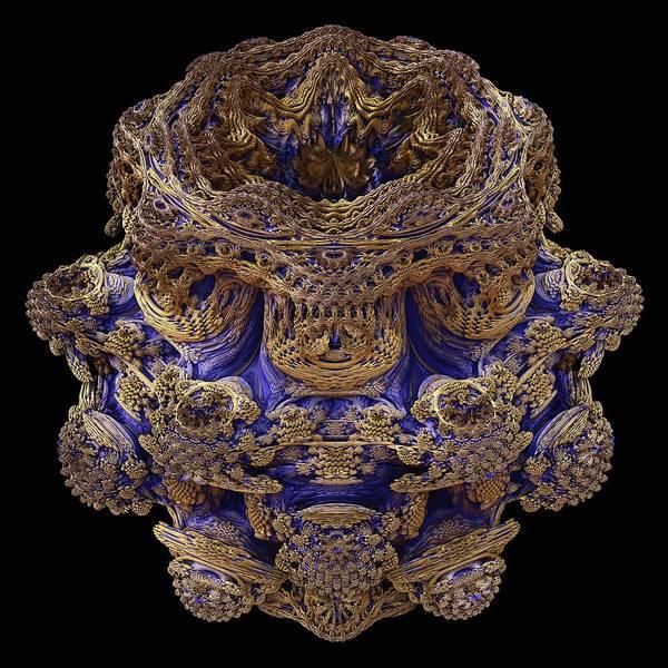 3d Visualization Photograph - Mandelbulb Fractal by Laguna Design/science Photo Library