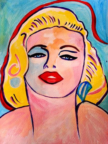 Painting - Marilyn by Nikki Dalton