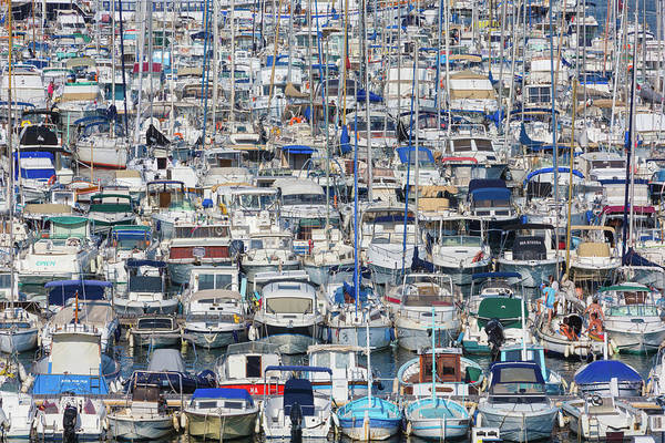 Motor Boat Photograph - Marseille, Provence-alpes-cote Dazur by Panoramic Images