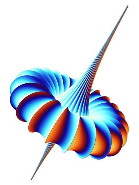 3d Model Photograph - Mathematical Model by Pasieka