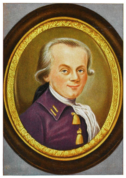 Wall Art - Drawing - Maximilien Robespierre   French by Mary Evans Picture Library